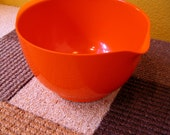 vintage Rosti orange mixing bowl