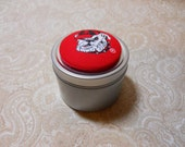 Large Georgia Bulldogs Trinket Box