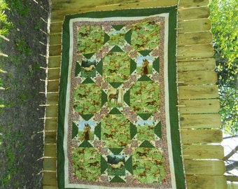My Pretty Horses Quilt