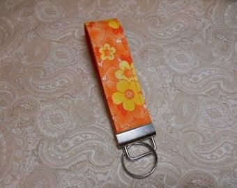 Summer Blossoms Key Fob