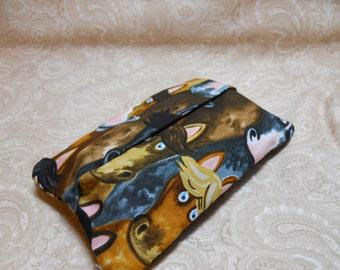 Fun Horses Purse Tissue Cover