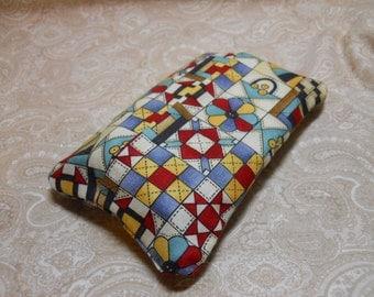 Quilt Design Purse Tissue Cover