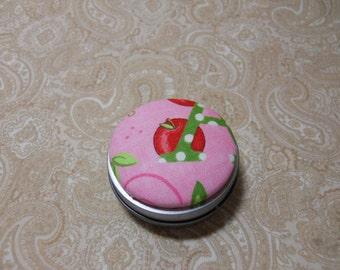 Pink Apple Tooth Fairy Box / Trinket Box