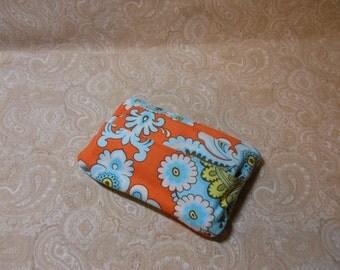 Orange and Blue Fun Purse Tissue Cover