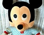 "Beddy-Bye 13"" MICKEY MOUSE Stuffed Doll - Playskool"