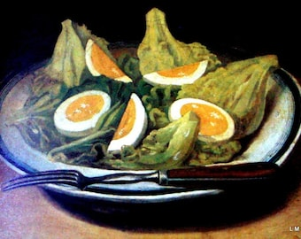Boston Museum Fine Arts Cookbook II - VG - 1981  - Beautiful Illustrations