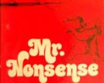 Mr Nonsense - A Life of Edward Lear - by Emery Kelen - 1973 HC W\/DJ