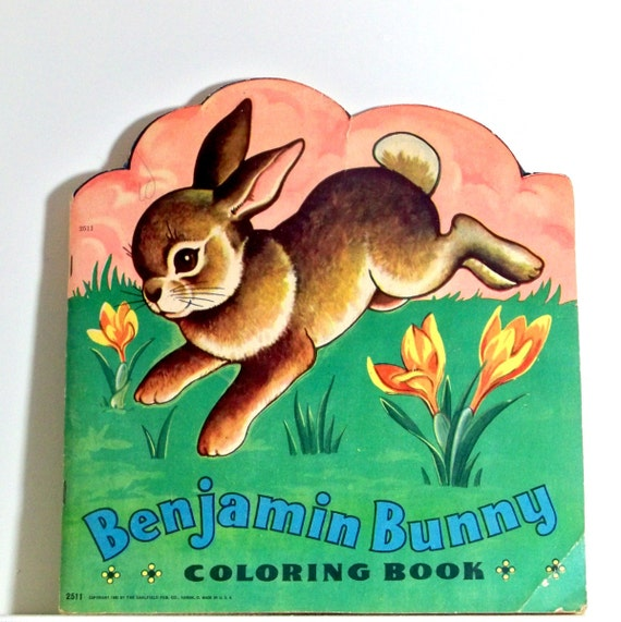 benjamin bunny coloring pages - photo#35