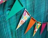 Pop Princess Paper Pennant Banner Bunting