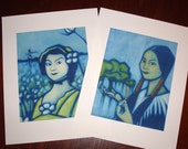 Mary Musgrove and Caty Green Print Set