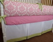 Custom Crib Bedding Set - Shabby Chic