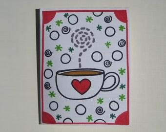 1 handmade winter card