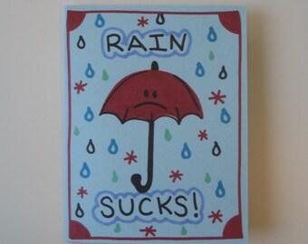 1 handmade sympathy card
