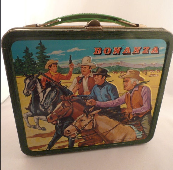 Bonanza 1963 Metal Lunch Box