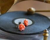 CLEARANCE Susie earrings in salmon