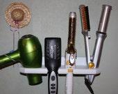 Hair Blow Dryer Straightener Curling Iron Brush Specialty Appliance Shelf  Holder Bath Bathroom Organizer Salon USA  DSCIN-E