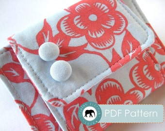 Melanie Wallet Clutch PDF Sewing Pattern (Instant Download)