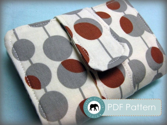 Lila Wallet PDF Sewing Pattern
