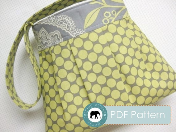 Reversible Pixie Handbag Purse Email PDF Sewing Pattern