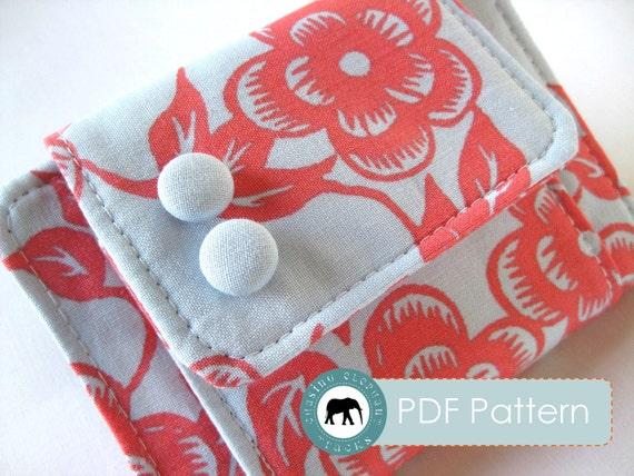 Melanie Wallet Clutch PDF Sewing Pattern (Instant Download)