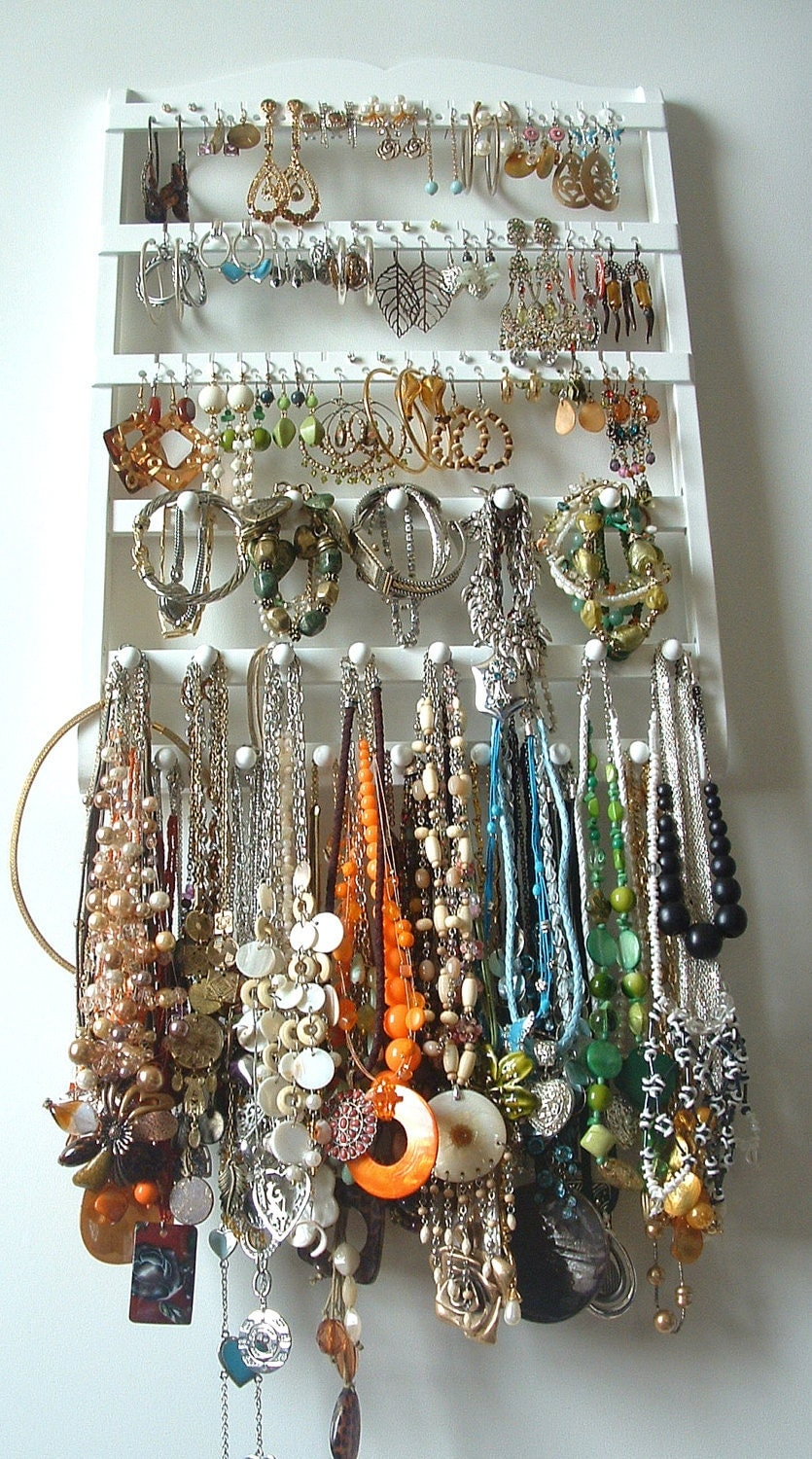 Jewelry Holder Earring Display Organizer by JewelryHoldersForYou