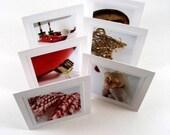 Mini Holiday Gift Tags, Christmas Tags, Holiday Tags, Photo Gift Tags - (set of 12)