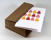 Easter Card, Bunny Card, Rabbit Card, Greeting Card, Animal Card, Spring - single