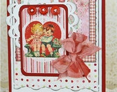 You in My Heart Handmade Valentine Card