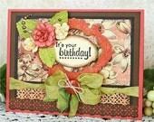It's Your Birthday Handmade Birthday Card