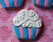Custom Cupcake Cookies 1 dozen