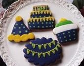 Custom Birthday Cookies 13 cookies special price