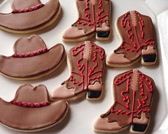 Western Cowboy Cookies 1 dozen