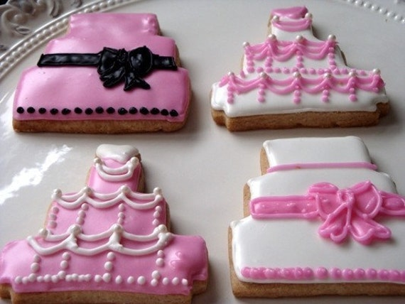 Design Your Own Photo Cake : Custom Design your own wedding cake cookies by ...