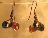Fall Tri-colored Earrings