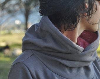 Wraparound hoodie