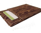 Business Card Holder Wood Grain, Faux Bois for business, credit or gift cards Ships Today, Free