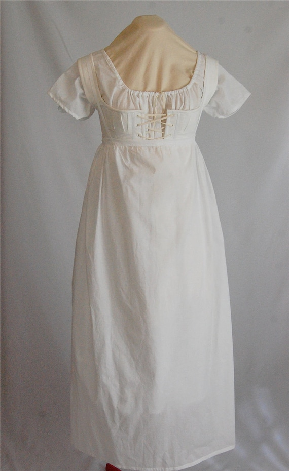 Ready to Ship - Regency Strapped Petticoat size 6-8 Tall