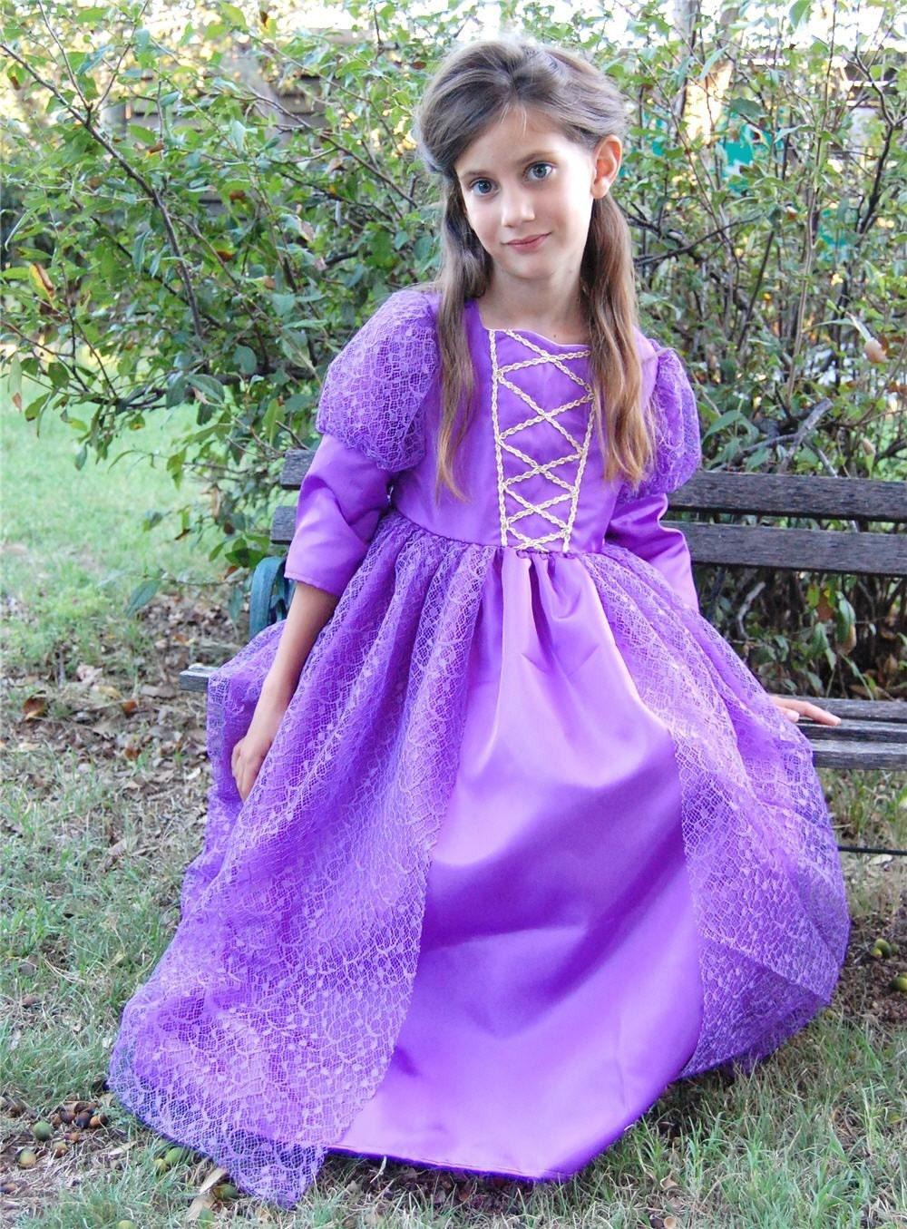 Purple Princess Rapunzel Purple...