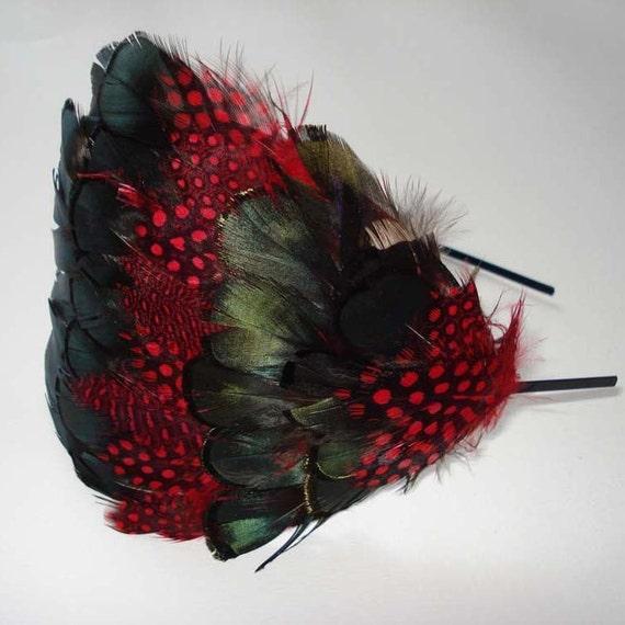 Evangeline Feather Headband