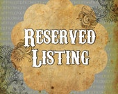 Reserved Listing for TownCountryJewelry