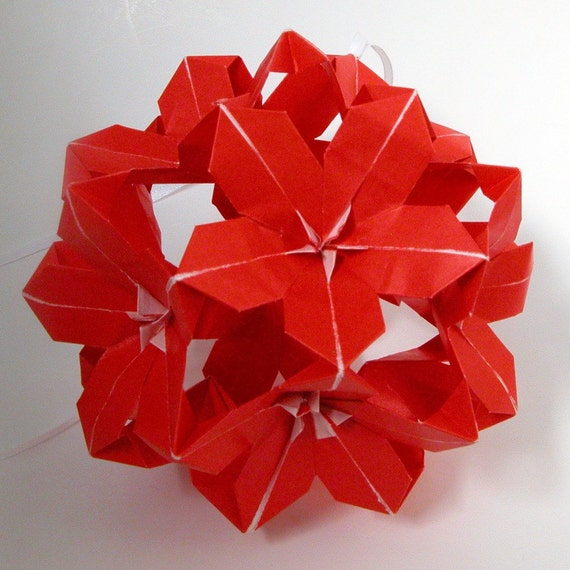 Poinsettia Origami How To Make An Origami Poinsettia Flower Page 23