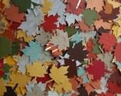 Lots of Leaf Cut Outs Grab Bag