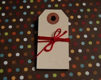 Extra Small Manila Shipping Tags--2 3/4 x 1 3/8--Blank-Price Tag-Craft Tag-Bake Sale Tag-Manilla-Hang Tag-Gift Tag-Packaging--Ready to Ship