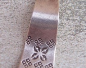 Thai Silver Wave Focal Pendant with Stamping