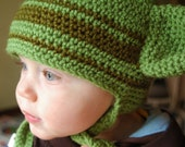 YODA  hat- 12mo to 3t  RESERVED for Aimeesometimes