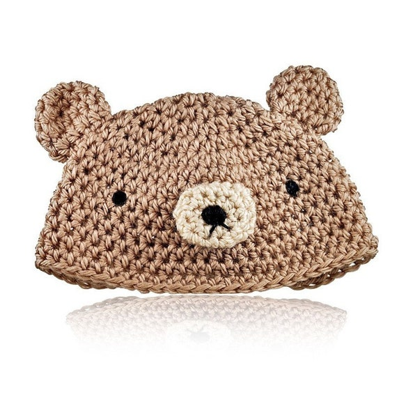 Amigurumi Crochet Hat Patterns : Crochet Pattern for Cute Amigurumi Bear and Bunny Baby Hat