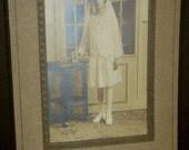 Vintage Photograph ... young Bride ...