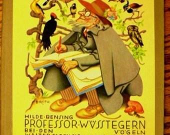 vintage book ... Hilde-Bensing PROFESSOR WVSSTEGERN  ...