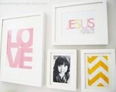 Jesus Loves Me This I Know Art Print