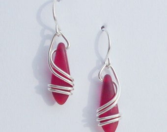 RED Right Coast Earrings